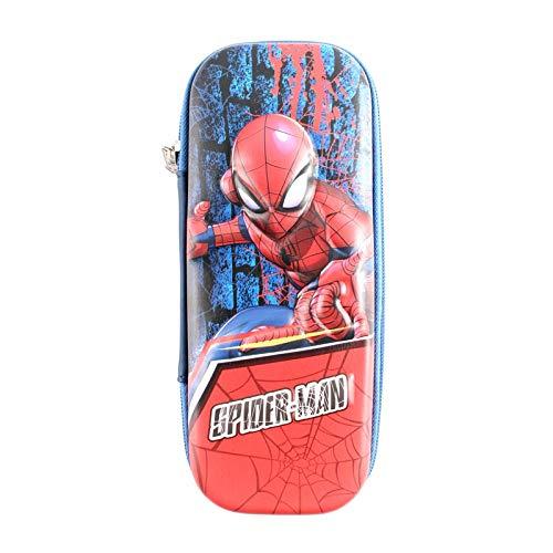 Spider-man Penna Pouch Pencil Cancelleria Custodia con cerniera Borsa Studente Regalo Vasca Boy Pencil-box C