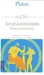 Ion et autres textes de PLATON