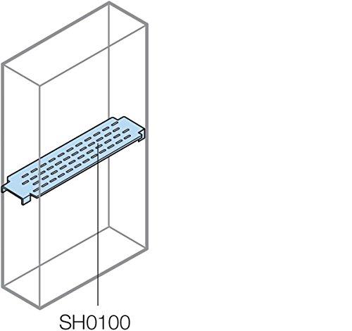 Afneembare scheidingswand - horizontale plank = 800 mm bodem