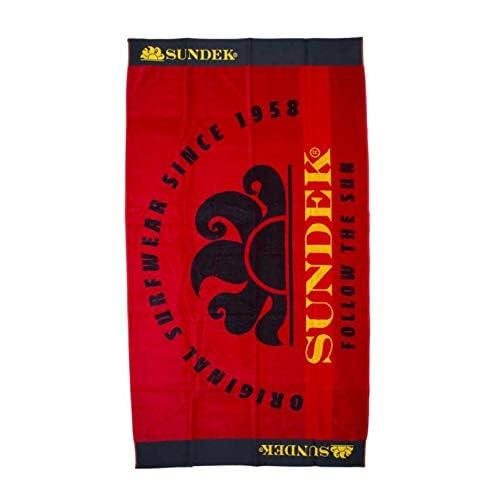 SUNDEK AM423ATC1000 Telo Mare Cotone Rosso