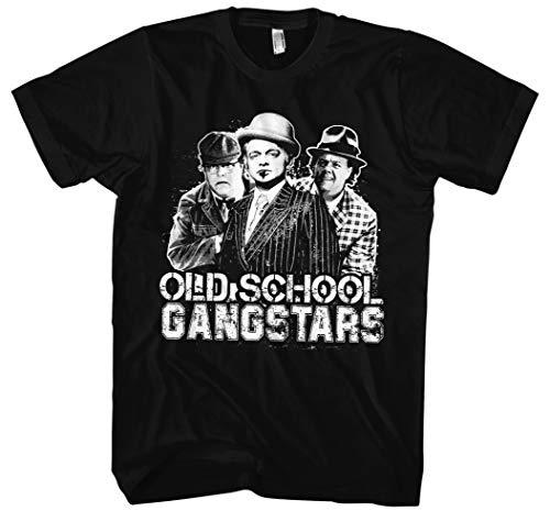 Olsenbande Männer und Herren T-Shirt | Egon Weltkulturerbe | M2 (3XL, Schwarz)