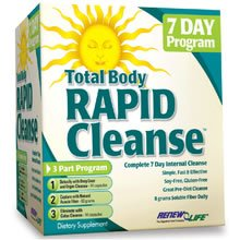 Renew Life – Rapid Cleanse Kit, 3 part Cleanse