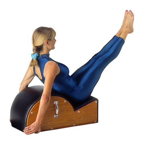 AeroPilates Spine Corrector Barrel   Used to Open The Chest   Correct and Restore The Curve of The Spine   Includes 20 min Workout DVD
