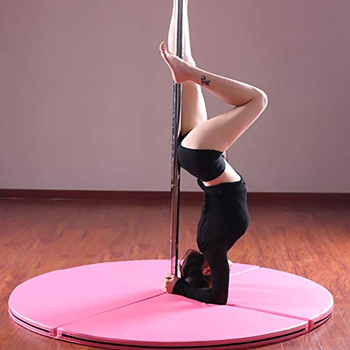 Pole Dance, Baile De Tubo Profesional Stripp Portátil Extraíble Extraíble De 360 Vueltas Baile De Poste Polo Kit, para El Hogar, del Partido del Club Pub,Plata