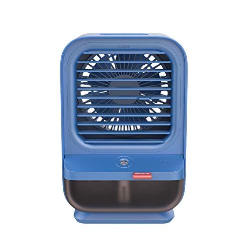 LEEDY Mobiles Klimagerät Luftkühler Luftbefeuchter,Kühlung, Befeuchtung und Reinigung 3-in-1 Tragbarer Kühlerlüfter mit eingebautem Verdunstungswasserfilter