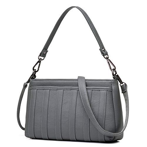 Pu-Frauen-Beutel-Mutter-Beutel-Temperament-Handtaschen-Dame Fashion Simple Small Cross-Beutel-Schulter-Kurier-Beutel