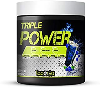 Laperva Triple Power Pre-Workout Blue Raspberry, 30 Serving