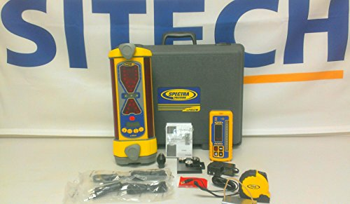 Spectra Precision LR60W Wireless Laser Receiver RD20 Remote Display w Tilt Grade Plumb Angle Compensation Excavation ACE
