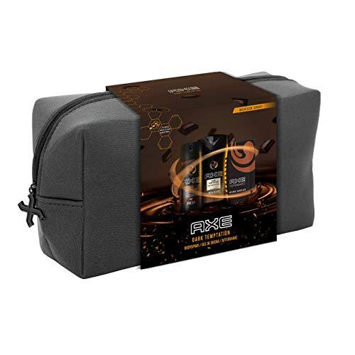 Axe Pack Dark Temptation Neceser Trio - Desodorante 150 ml + Gel de Ducha 250 ml + After Shave 100 ml