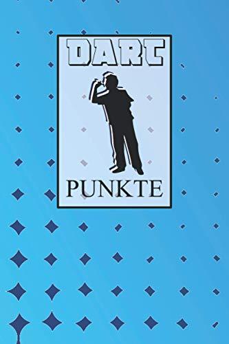 Dart Punkte: Spielblock um deine Punkte zu notieren | mit Dart Outs | Training oder Turnier | Crickets | 301, 501, 701 | Scorer Book