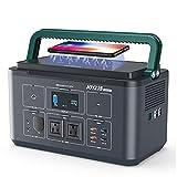 Joyzis ポータブル電源 144000mAh/533Wh AC出力500W 純正弦波 60Hz対応 PD60W対応 急速充電QC3.0搭載 ワイヤレス充電対応 LEDライト SOS機能付き BR500