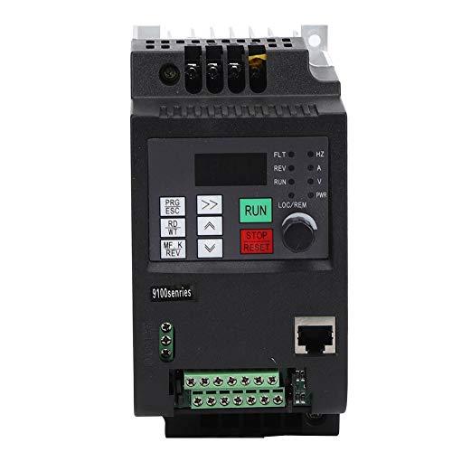 Frequenzumrichter,VFD Frequenzumrichter Solar Wechselrichter VFD DC Photovoltaik Frequenzumrichter PWM Steuerung DC400-700V Eingang dreiphasig 0-380VAC Ausgang DC Photovoltaik Wechselrichter(2,2 kW)