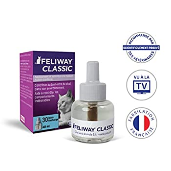 Feliway Classic – Anti-Stress pour Chat – Recharge 48 ML