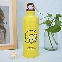 温泉水のボトル、哺乳瓶、美しい高品質のホームオフィス用品(yellow)