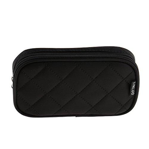 Blesiya Pro Travel Cosmetic Case Trousse De Toilette Sac à Main Organisateur Pochette De Rangement Bourse - Noir