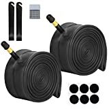 26-inch Bike Tube Inner Tubes - 2pcs 26' Bicycle Interior Tire Tube Schrader Valve(32mm), Bicycle Tyres 2 Tire Levers & Repair Tool,Fit Width 1.75/1.95/2.10/2.125 BMX MTB Bicycle Tires