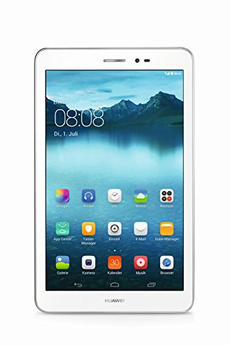 Huawei MediaPad T1 8.0 20,3cm (8 Zoll) Tablet-PC (3G, Qualcomm, 1,2GHz, 1GB RAM, 16GB HDD, Android) weiß