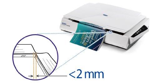 Avision FB6280E Flachbett-Scanner (A3, 600dpi, USB 2.0) anthrazit/weiß
