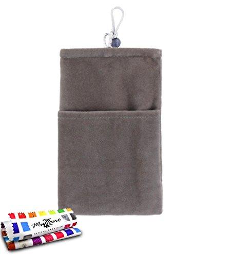 MUZZANO Tasche Nokia Lumia 930[Cocoon] [grau] Eingabestift und Reinigungstuch angeboten–Der Schutz stoßfest ultimative, Elegante und nachhaltige für Ihre Nokia Lumia 930