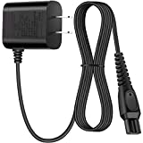 15V Shaver Charger Universal Replacement Charger Cord Portable Adapter Charger Compatible with Philips-HQ8505 Norelco Electric Shaver