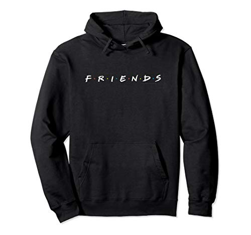 Friends Logo White Pullover Hoodie