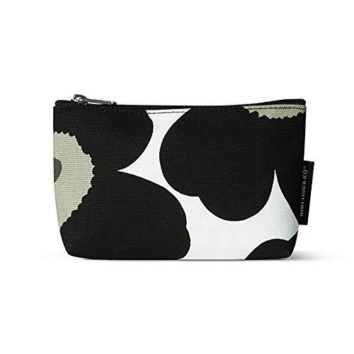 Marimekko - Kosmetiktasche - Eelia Pieni - Unikko - Baumwolle - weiß-schwarz - 19 x 11 x 5 cm