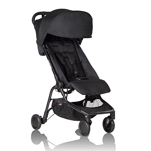 Mountain Buggy NANO-V2-5 Kinderwagen, schwarz
