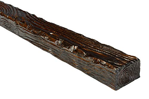 2 Meter   Balken   PU   Holzoptik   Deco Wood   90x60mm   EQ007.D