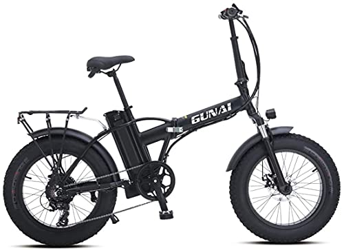 JIAWYJ YANGHAO-Adult mountain bike- Mountain Snow Electric Bicycle Electric Bicycle Road Bike 20-inch Tires Fat-Speed Mechanical disc Brake System 7 (Black) YGZSDZXC-04