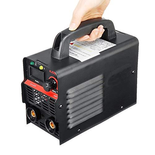 Mini soldadora portátil, 220V ajustable 20A-225A 4200W de mano IGBT Inversor Soldadora de arco-Máquina de soldadura Pantalla digital