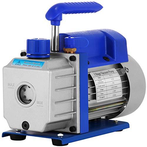 HUHU Pompa a vuoto rotativa a palette per refrigerante, monitoraggio semplice, dissipatore di calore intelligente, flusso a prova di olio, caratteristiche principali, resistenza agli urti e all'usura