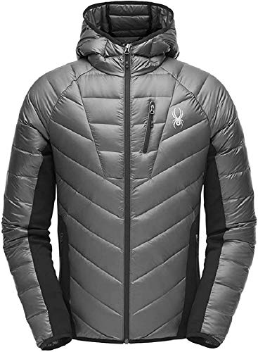 Spyder Herren Jacke Syrround Hybrid, Polar/Black, XL, 181566