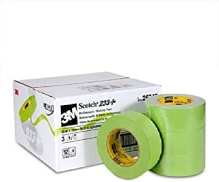 3M Scotch 233+ Performance Paper Masking Tape, 60 yds Length x 2