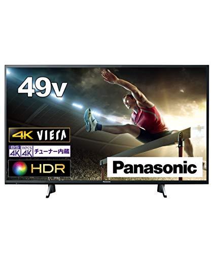 パナソニック 49V型 4Kチューナー内蔵 液晶テレビ ビエラ TH-49GX750