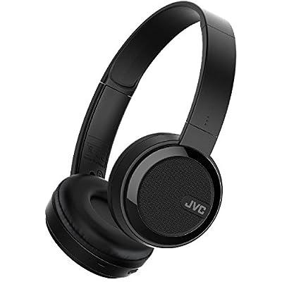 JVC S40BT On Ear Bluetooth Wireless Foldable Headphones with Dynamic Deep Bass Boost - Black by Jvc