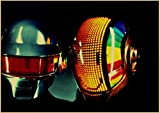 Poster The Daft Punk Rock Music Band Poster, hochwertig,