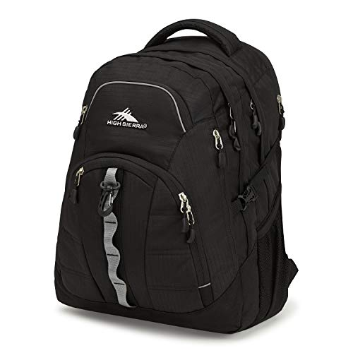High Sierra Access 2.0 Laptop Backpack, One Size, Black