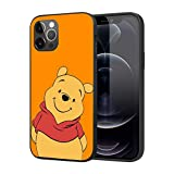 for iPhone 12 Pro Max Case, Premium Silicone Rubber Full-Body Protective Case (Winnie-Bear-Pooh)