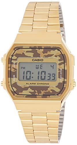 Casio Collection Unisex Retro Armbanduhr A168WEGC-5EF
