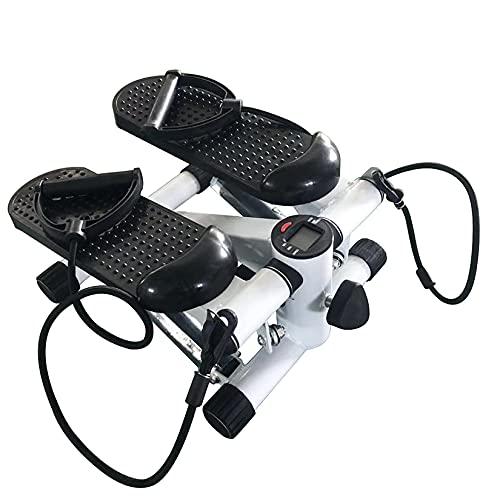 meihe Mini Stepper Fitness,Mini Stepper à Domicile-Stepper d'appartement avec écran LCD/Corde...