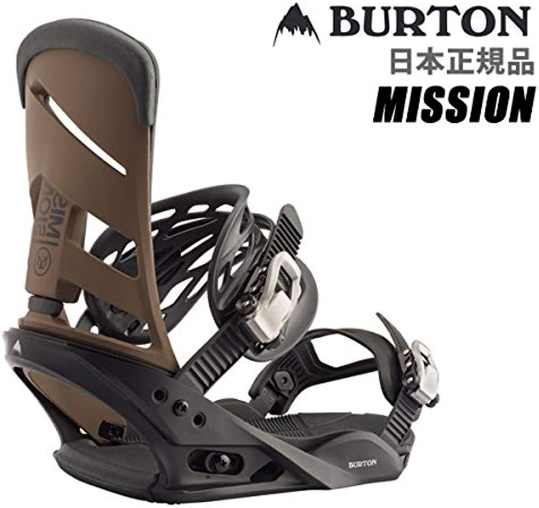 バートン バートン ビンディング ミッション MISSION RE:FLEX (リフレックス) 黒-MOCHA モカ 日本正規品 BURTON (19-20 2020)スノーボード ビンディング【C1】