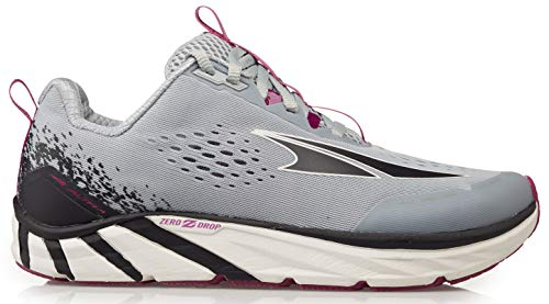 ALTRA Women's Torin 4 Road Running Shoe, Gray/Purple - 10 M US