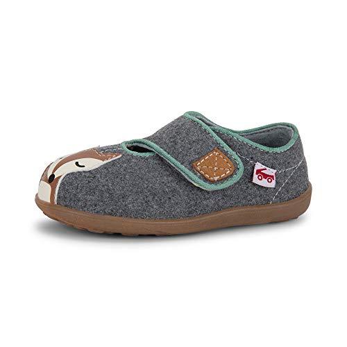 See Kai Run, Cruz II Slippers for Kids, Gray Fox, 6