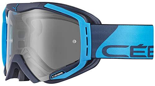 Cébé Hurricane Gafas de Ciclismo Grey/Blue Large, Adultos Unisex