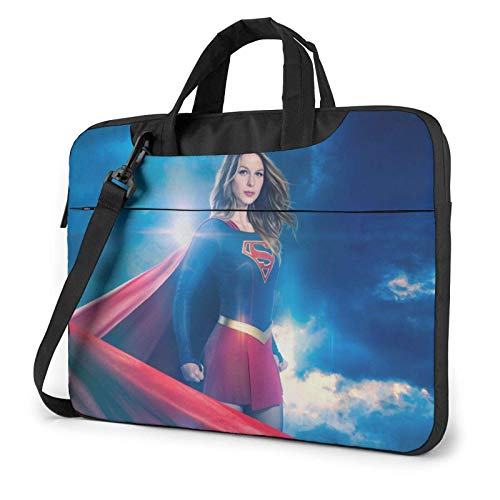 shenguang Su-per-gi-rl Laptop Shoulder Messenger Bag Case Sleeve for (13 Inch 14 Inch 15.6 Inch) Durable and Lightweight Portable Laptop or Ipad Tablet Case Laptop Briefcase 13 inch