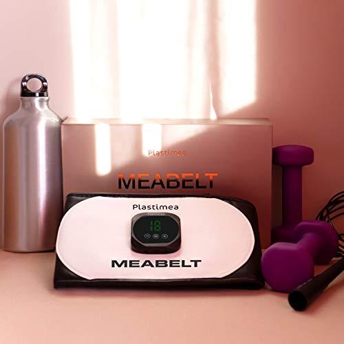 Cintura Addominale con Tecnologia EMS • Elettrostimolatore Muscolare Meabelt 500 • Tonifica Addominali, Snellisce, Brucia Grassi • 6 Programmi, 18 Livelli d'Intensità!