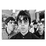 Oasis Gallagher Brüder Musik Legenden Poster drucken