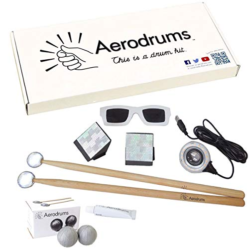 Aerodrums Air-Drumming Schlagzeug E-Drum + 2 Stk Stick-Reflektoren