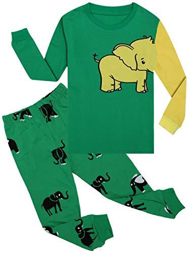 Qtake Fashion Pijama para niños de 1 a 12 años