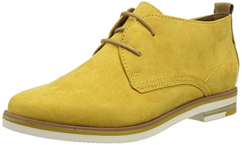 MARCO TOZZI Damen 25128 Desert Boots, Gelb (Sun Comb 618), 42 EU